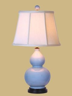 Another really neat gourd lamp