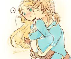 BOTW Link x Zelda