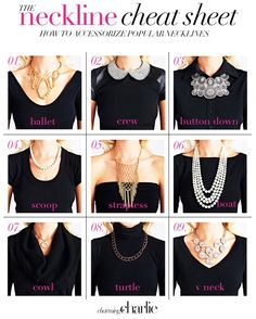 How to Accessorize Necklines