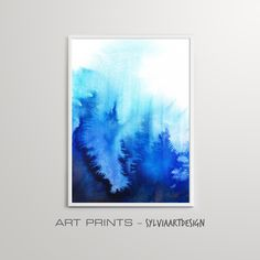 Modern Abstract Wall Art Print, Downloadable Print, Modern Minimalist, Watercolour, Printable Digital Download, Large Poster Watercolor Paintings Abstract, Abstract Wall Art, Watercolour, Blue Walls, Modern Minimalist, Printable Wall Art, Wall Art Prints, Tapestry, Posters