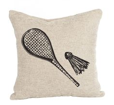 Badminton Racket And Birdie Download Vintage Image Paper Crafts Image Transfers For Pillows Clothing Tea Towels Tote Bags No. 310. $1,00, via Etsy.