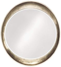 Elliptical Burnished Silver Wall Mirror | 55DowningStreet.com    Nice Bathroom mirror