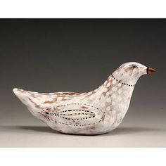Sculpted Ceramic Bird  Casey by jennymendes on Etsy $45.00
