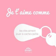 #Evian lance sa campagne #ILoveYouLike pour la #SaintValentin
