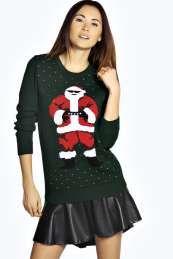 d297630de4 Farah Father Christmas Jumper Xmas Sweaters