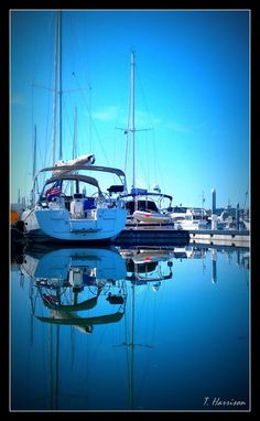 Sail boat on glass...