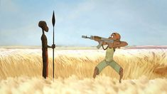Adumu - A beautiful animation about a boy in the Safari Animated Cartoons, Animated Gif, 80s Music Hits, Principles Of Animation, Sci Fi Shorts, African Life, Films Cinema, Film D'animation, Animation Reference