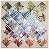 Geese Migration Quilt free quilt pattern from Dear Quilty   GIVEAWAY