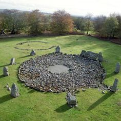 To visit the Loanhead of Daviot, a recumbent circle that is 44 centuries old, located in Aberdeenshire, Scotland.