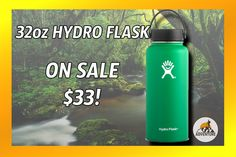 """The 32oz """"Forest"""" Hydro Flask On Sale 17% Off!"""