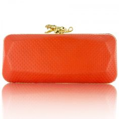 #red #orange #lepanthera #panther #design #inspiration #bansriclutch #clutch #accessories #pretty
