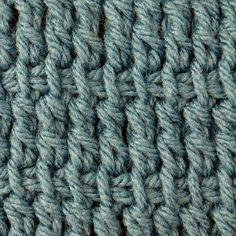 Ttc Tunisian Treble Crochet Stitch from My Tunisian Crochet: Basic Stitches