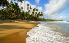 Beautiful Nature Beach Wallpaper Hd Background Wallpaper HD