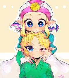The Legend of Zelda: Ocarina of Time, Young Link and Young Princess Zelda