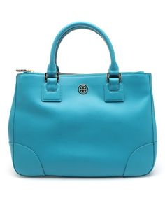 Electric Eel Robinson Double Zip Tote by Tory Burch #zulily #zulilyfinds