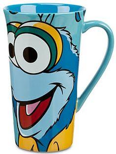This Disney Store The Muppets Most Wanted movie Gonzo coffee mug is from a page of all of the Most Wanted themed mugs.