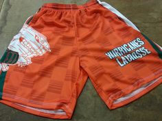 lacrosse shorts and lacrosse uniforms.  Made to order in Maryland USA.