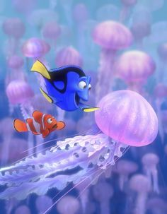 Directed by Andrew Stanton, Lee Unkrich.  With Albert Brooks, Ellen DeGeneres, Alexander Gould, Willem Dafoe. After his son is captured in the Great Barrier Reef and taken to Sydney, a timid clownfish sets out on a journey to bring him home.