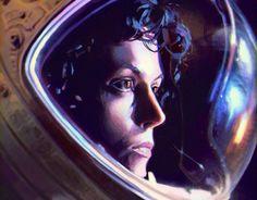 Ознакомьтесь с этим проектом @Behance: «Alien study» https://www.behance.net/gallery/16050585/Alien-study