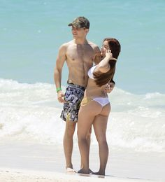 Young love: The duo seemed to be having the time of their lives together