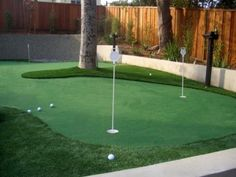 "It may not be ""The Masters,"" but what golfer wouldn't enjoy this bit of fun in their own back yard?! :-)"