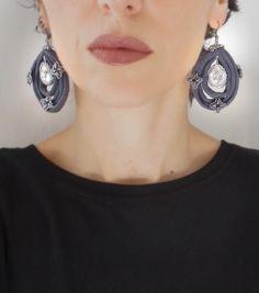 Ice&Silver Earrings | leFilomille