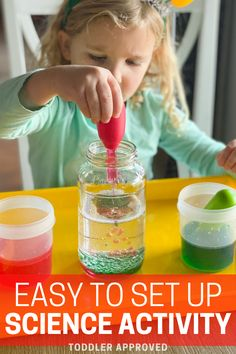 Easy Science, Preschool Science, Science Activities, Oil And Water Experiment, Water Experiments, Christmas Activities, Christmas Crafts, Steam Learning, Motor Skills Activities