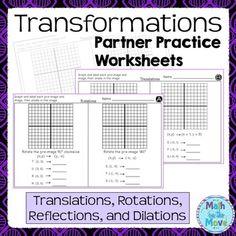 transformations coordinate plane dilations riddle practice worksheet the o 39 jays planes and. Black Bedroom Furniture Sets. Home Design Ideas