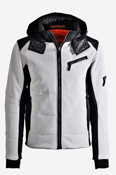 4072faf1f3 This classic men´s ski jacket made from soft