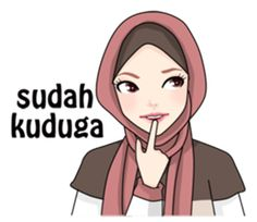 Buat chat kamu lebih asyik dengan Hijab Gaul Stiker :D Islamic Art, Islamic Quotes, Hijab Cartoon, Dope Wallpapers, Muslim Hijab, Learn Korean, Self Reminder, Line Store, Qoutes