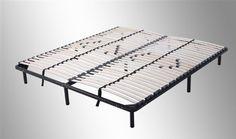 Lattenrost 180x200 cm, Gästebett - auf Füßen, für alle Matratzen geeignet