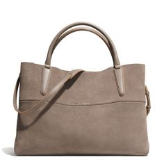 The The Large Soft Borough Bag In Suede from Coach