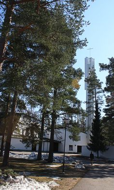 Church of the Three Crosses : Vuoksenniska Church, Imatra Finland (1956-58) | Alvar Aalto