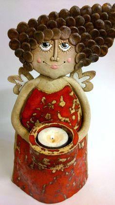 Andělka více korpulentní svíčková