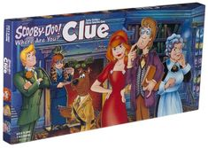 Unique Scooby Doo Gifts | scooby doo clue board game but it s up to scooby and those meddling ...