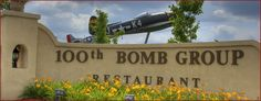 100th Bomb Group Restaurant  by Cleveland Hopkins Intl Airport  Cleveland, Ohio