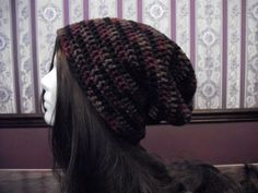 Teen Adult Size Earth Tones Slouch Hat by MarlowsGiftCottage, $20.00