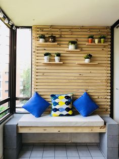 It won't cost you too much money to go this route and your basement guest room Bedroom Nook, Bedroom Closet Design, Bedroom House Plans, Bedroom Layouts, Pallet Furniture Designs, Cool Furniture, House Balcony Design, House Design, Small Balcony Furniture