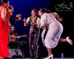 Dancers Carmen Ledesma & Rafael de Carmen, singers Jose Mendez & Mari Peña and guitarist Antonio Moya at 9th Annual Bay Area Flamenco Festival. Photo by Christine Fu.