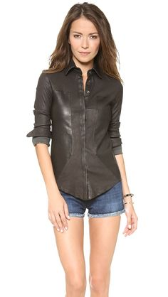 leather denim @RtA