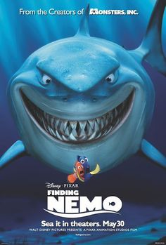 Finding Nemo - Click image to find more Film, Music & Books Pinterest pins