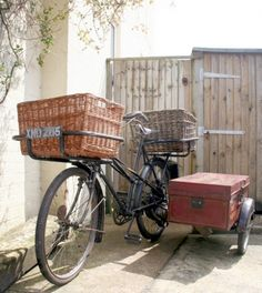 1951 Cyclemaster Roundsman Gundle Model 'RR' Dual-Carrier Tradesman's Delivery Bicycle &Sidecar
