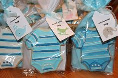 Baby shower favours - in cute bags