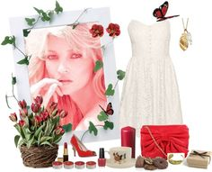 """R.E.D"" by koolskittle on Polyvore"