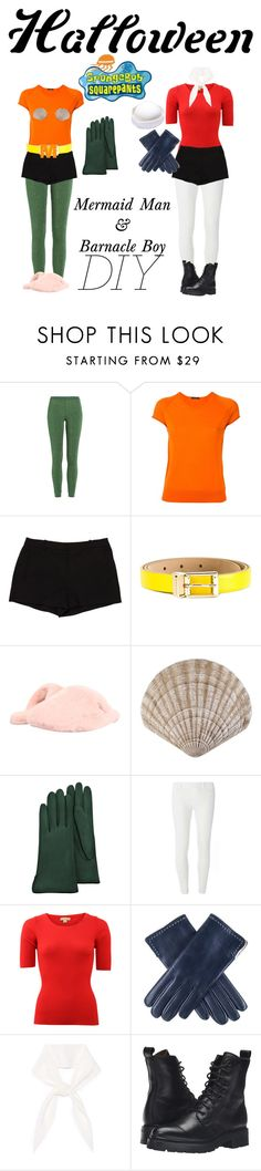 """Mermaid Man & Barnacle Boy!"" by absolutely-mia ❤ liked on Polyvore featuring Missoni, Roberto Collina, L'Agence, Dolce&Gabbana, UGG Australia, Forzieri, Dorothy Perkins, Michael Kors, Black and Chloé"