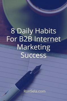 8 Daily Habits For B2B Internet Marketing Success: Every B2B marketer would love to hit a homerun with every piece that they write. They would love for every marketing campaign that they are behind to be a rousing success. Is this likely to happen for anybody? Probably not. There are too many variables to ensure that every effort is a success. However, it is possible to an extraordinary B2B marketer whose hits far outnumber their misses, and who does manage to create that viral content.