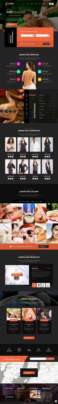 Lemon is a minimal and modern design #WordPress #template for #spa and beauty #salon responsive website with 4 stunning homepage layouts download now➯ https://themeforest.net/item/lemon-spa-beauty-responsive-multipurpose-wordpress-theme/16642390?ref=Datasata