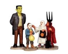 Lemax Spooky Town Is That Really?? Set of 3 # 32128