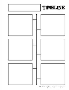 Timeline Notebook Pages - Teaching the past tense/ practicing story telling and…