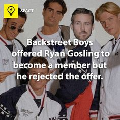 why they gotta cover Howie for?? But if Ryan Gosling was in the BSB my dream would have been made lol